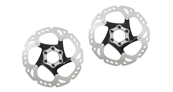 Shimano Deore XT SM-R86 Bremsscheiben-Set Ice-Tech silber